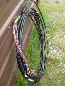 Thermistor string